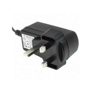 Power adapter supply, 12VDC, UK, plug type G
