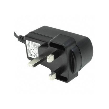 Power adapter supply, 12VDC, UK, plug type G