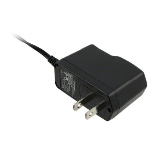 Power adapter supply, 12VDC, USA version, plug type A