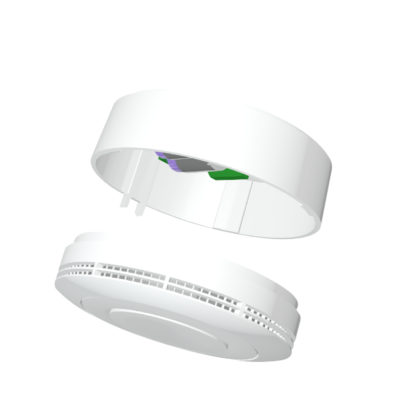 CM2400 GSM smoke detector is a battery operated fire alarm
