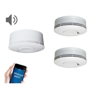interconnected smoke detectors, gsm smoke alarm