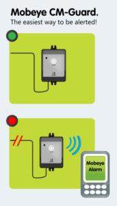mobeye cm2000, mobeye cm-guard alarm dialler